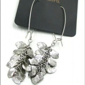 ✔️New Fashion Metal Silver Dangling Earrings